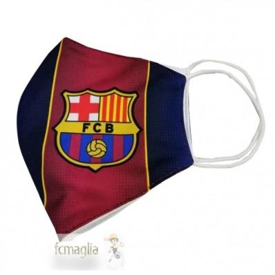 Asciugamano Maschera Da Calcio Barcellona