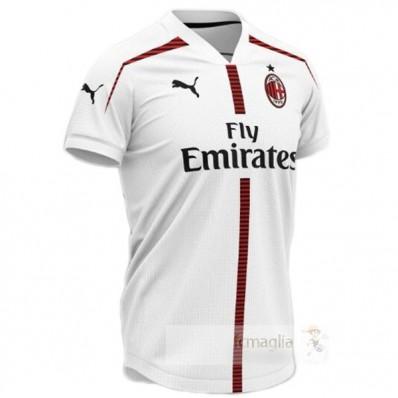 Concepto Divise calcio AC Milan 2019 2020 Bianco