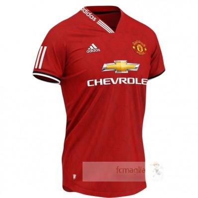 Concepto Divise calcio Manchester United 2019 2020 Rosso