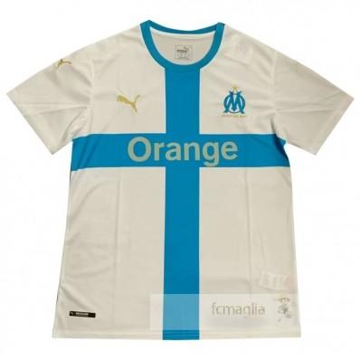 Concepto Divise calcio Olympique Marsiglia 2019 2020 Bianco Blu