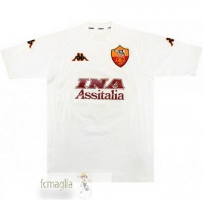 Divise Calcio Away As Roma Retro 2000 2001