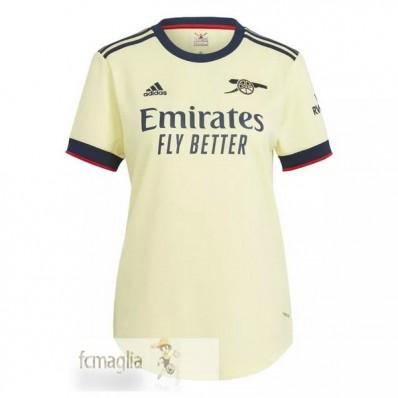 Divise Calcio Away Donna Arsenal 2021 2022