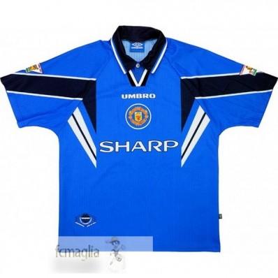 Divise Calcio Away Manchester United Retro 1997 1998