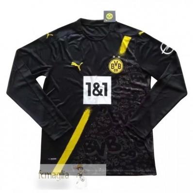 Divise Calcio Away Manica Lunga Borussia Dortmund 2020 2021