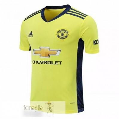 Divise Calcio Away Portiere Manchester United 2020 2021