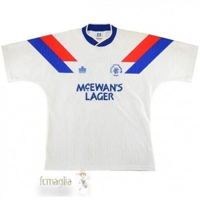 Divise Calcio Away Rangers Retro 1990 1992