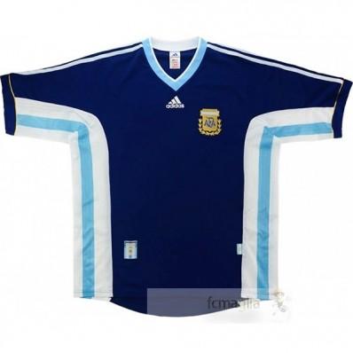 Divise calcio Away Argentina Retro 1998 Blu