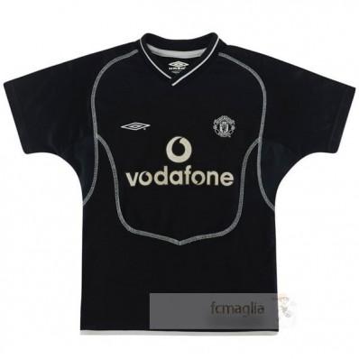 Divise calcio Away Manchester United Retro 2000 2002