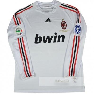 Divise calcio Away Manica Lunga AC Milan Retro 2008 2009