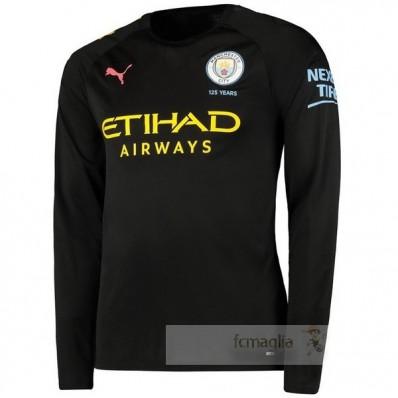 Divise calcio Away Manica Lunga Manchester City 2019 2020