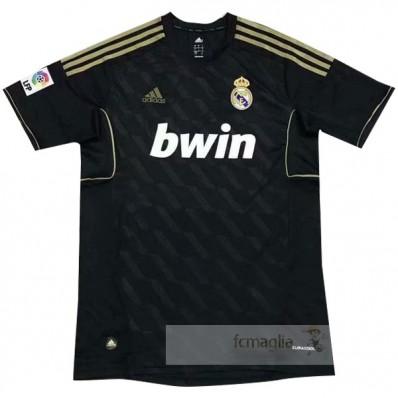 Divise calcio Away Real Madrid Retro 2011 2012 Nero