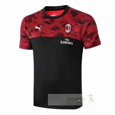 Divise calcio Formazione AC Milan 2019 2020 Nero