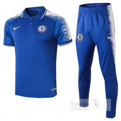 Nike Set Polo Chelsea 2018 2019 Blu