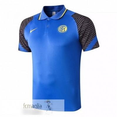 Polo Inter Milan 2020 2021 Blu
