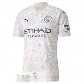 Divise Calcio Away Manchester City 2020 2021 Bianco