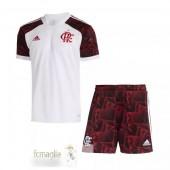 Divise Calcio Away Set Bambino Flamengo 21 22