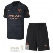 Divise Calcio Away Set Bambino Manchester City 2020 2021