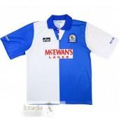 Divise Calcio Prima Blackburn Rovers Retro 1994 1995