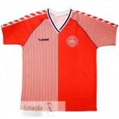 Divise Calcio Prima Danimarca Retro 1986