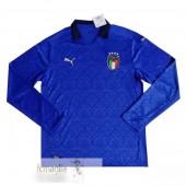 Divise Calcio Prima Manica Lunga Italia 2020