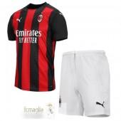 Divise Calcio Prima Set Bambino AC Milan 2020 2021