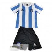 Divise Calcio Prima Set Bambino Argentina 1986 Blu