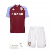 Divise Calcio Prima Set Bambino Aston Villa 2020 2021 Rosso