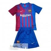 Divise Calcio Prima Set Bambino Barcellona 2021 2022