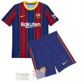 Divise Calcio Prima Set Bambino Barcelona 2020 2021