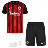 Divise Calcio Prima Set Bambino Frankfurt 2020 2021 Nero