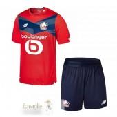 Divise Calcio Prima Set Bambino Lille 2020 2021