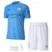 Divise Calcio Prima Set Bambino Manchester City 2020 2021