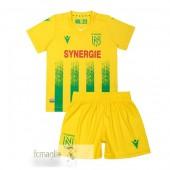 Divise Calcio Prima Set Bambino Nantes 2020 2021