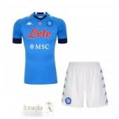 Divise Calcio Prima Set Bambino Napoli 2020 2021