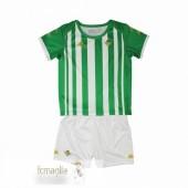 Divise Calcio Prima Set Bambino Real Betis 2020 2021