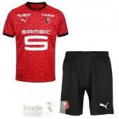 Divise Calcio Prima Set Bambino Stade Rennais 2020 2021