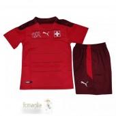 Divise Calcio Prima Set Bambino Svizzera 2021