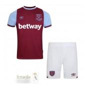 Divise Calcio Prima Set Bambino West Ham United 2020 2021