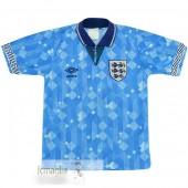 Divise Calcio Terza Inghilterra Retro 1990