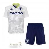 Divise Calcio Terza Set Bambino Aston Villa 2020 2021 Bianco