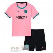 Divise Calcio Terza Set Bambino Barcelona 2020 2021