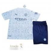 Divise Calcio Terza Set Bambino Manchester City 2020 2021