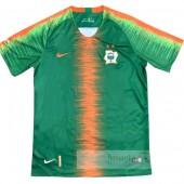 Divise calcio Formazione Costa d'Avorio 2018 Giallo Verde
