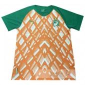 Divise calcio Formazione Costa d'Avorio 2019 Arancione
