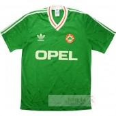 Divise calcio Prima Irlanda Retro 1990 Verde