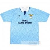 Divise calcio Prima Lazio Retro 1991 1992