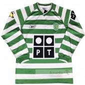 Divise calcio Prima Manica Lunga Sporting de Lisboa Retro 03 04