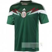 Divise calcio Prima Messico Retro 2014