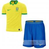 Divise calcio Prima Set Bambino Brasile 2019