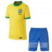 Divise calcio Prima Set Bambino Brasile 2020
